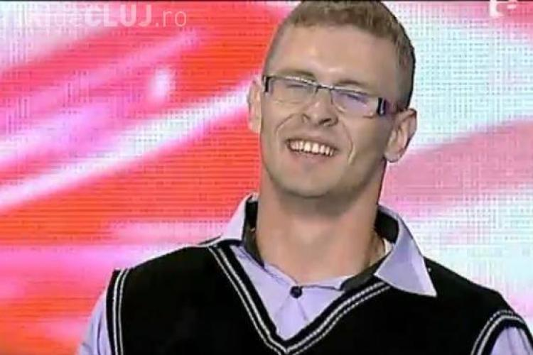 Ionut Boca - X Factor - VIDEO! Un somer din Cluj s-a facut de ras la show -ul de la Antena 1