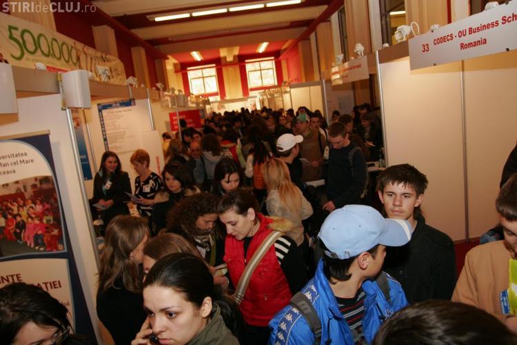 Spot admissions la Romanian International University Fair Cluj-Napoca