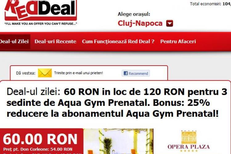 Deal-ul zilei:  60 lei in loc de 120 lei pentru 3 sedinte de Aqua Gym Prenatal. Primesti si 25% reducere la abonamentul Aqua Gym Prenatal!(P)