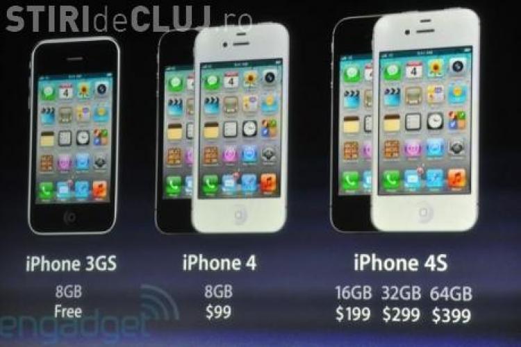 iPhone 4S, primele imagini! Vezi ce stie sa faca gadgetul Apple FOTO