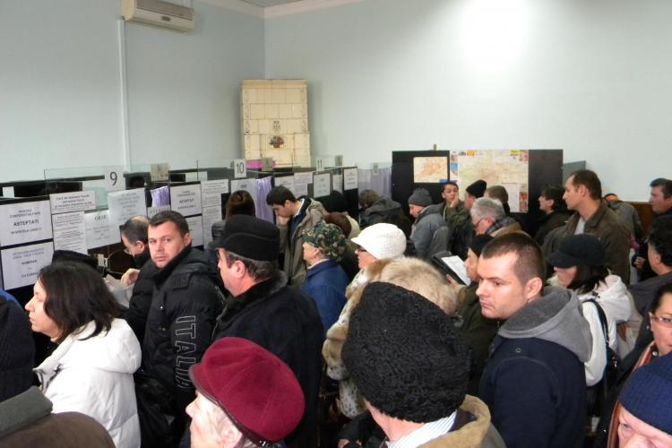 Clujenii s-au grabit sa isi plateasca impozitele si taxele locale