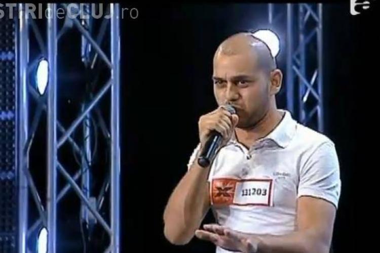 Alin Vaduva - X Factor - VIDEO! Un tanar de 25 de ani a facut senzatie