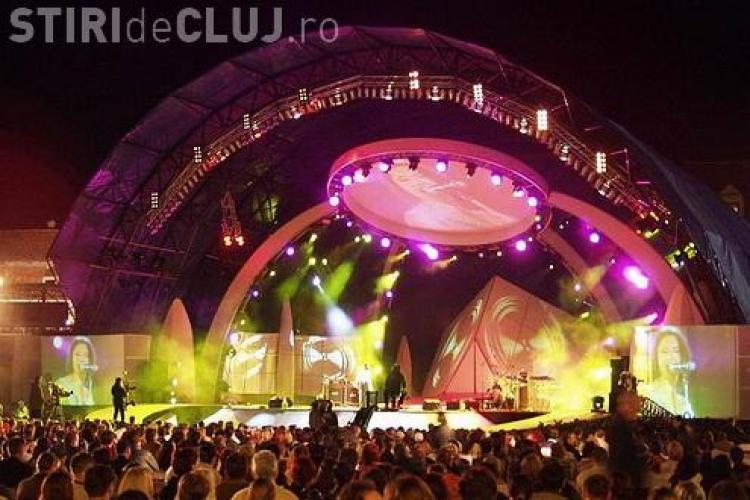 Scorpions la Cluj! Scena de pe Cluj Arena este cea pe care s-a organizat si Cerbul de Aur VIDEO