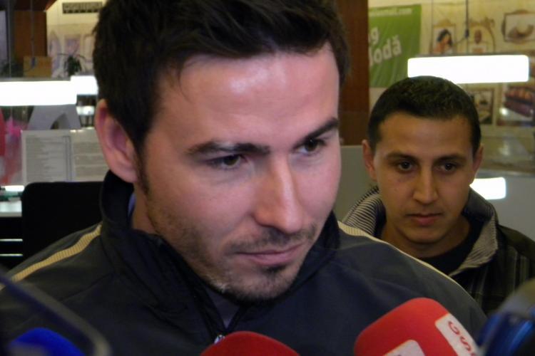"""Cristea a reusit primul hattrick din cariera in tricoul U Cluj: """"Nu m-a chemat nimeni la nationala"""""""