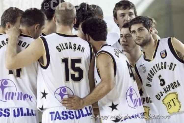 CSU Ploiesti - U Mobitelco 95-97! Clujenii incep campionatul cu o victorie