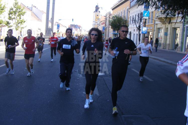 Carmen Burma a alergat la Cluj-Napoca, la crosul Loteriei FOTO