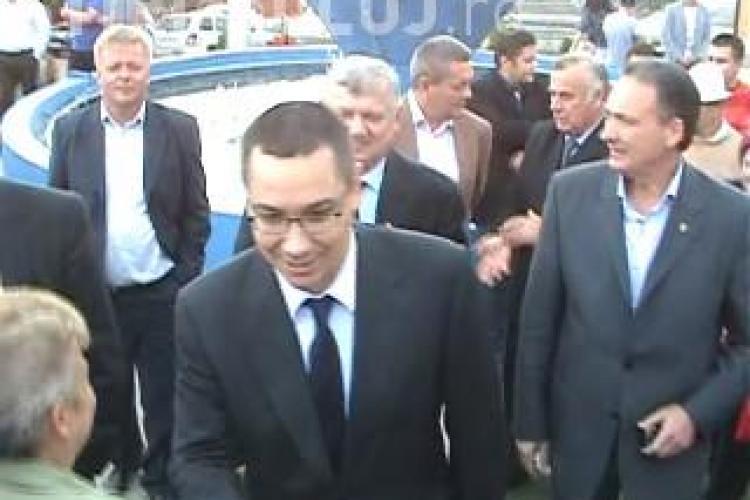 Ponta la Jucu! Presedintele PSD l-a apostrofat pe un angajat Nokia care reclama ca ramane fara slujba VIDEO