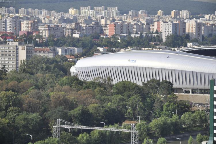 Ce strazi sunt inchise cu ocazia concertelor de pe Stadionul Cluj Arena