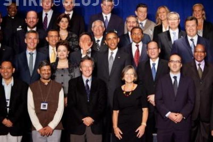 Ce gafa a facut Barack Obama la o fotografie oficiala realizata la ONU - FOTO