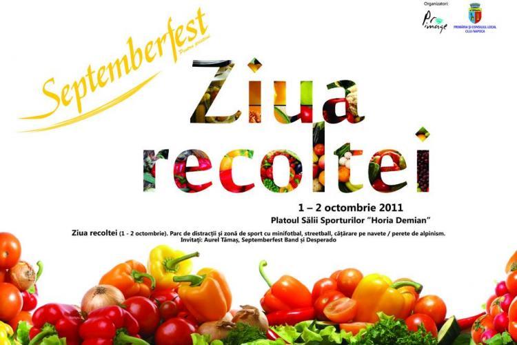 Ziua recoltei la Cluj-Napoca, in perioada 1-2 octombrie