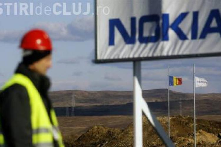 Protest Nokia la Cluj, organizat de opozitie