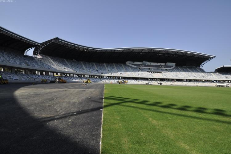 Scorpions la Cluj! Cum va fi protejata iarba de pe Cluj Arena in timpul concertelor VIDEO