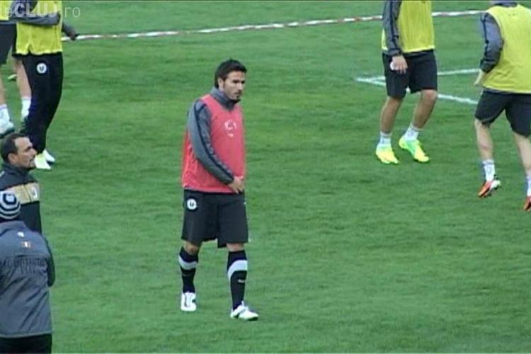 Pandurii Targu Jiu - U Cluj 1-0. Lemnaru a scos un penalty si Vranjes a inscris VIDEO