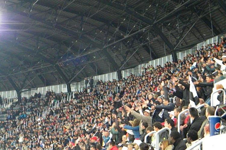 "Spectatorii fac ""valuri"" pe Cluj Arena! Vezi cum arata 30.000 de oameni in miscare VIDEO"