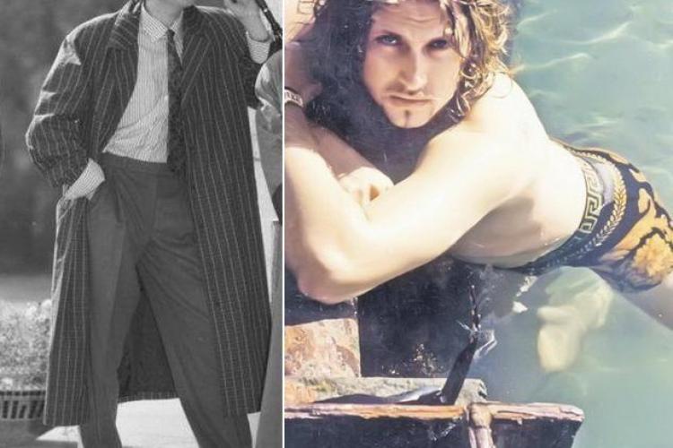 Cum arata Botezatu la 20 de ani. Avea plete si era un cuceritor FOTO