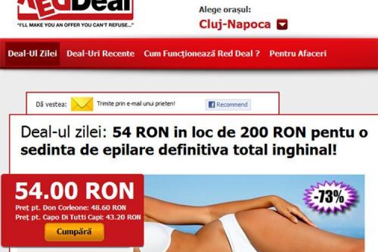 73% reducere pentru o sedinta de epilat inghinal total definitiv! Platesti 54 lei in loc de 200 lei la Salonul Prana din Cluj-Napoca (P)