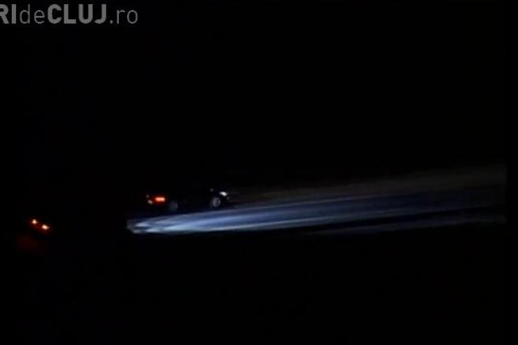 Liniute pe centura Valcele - Apahida inainte ca drumul sa fie inaugurat VIDEO