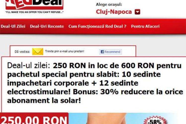 250 lei in loc de 600 lei pentru pachetul special pentru slabit: 10 sedinte impachetari corporale + 12 sedinte electrostimulare! (P)
