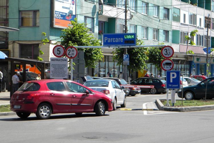 1712 locuri de parcare noi in Cluj-Napoca! Vezi topul pe cartiere si topul incasarilor