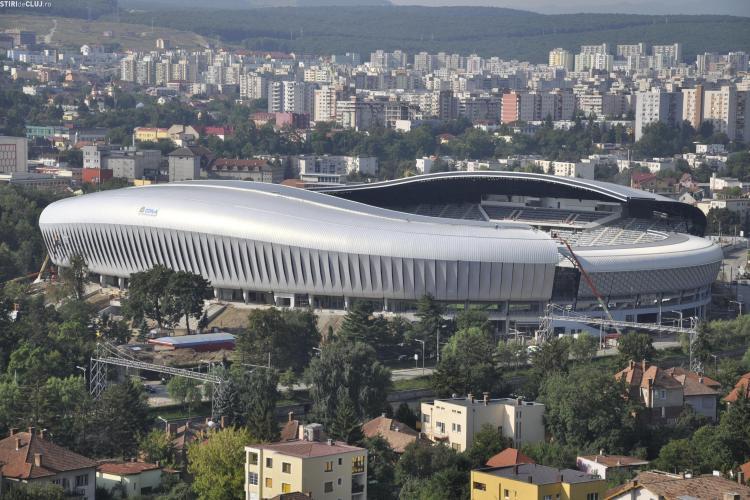 Noi firme interesate sa isi puna numele pe Cluj Arena. Vezi cine este dispusa plateasca sute de mii de euro pe an