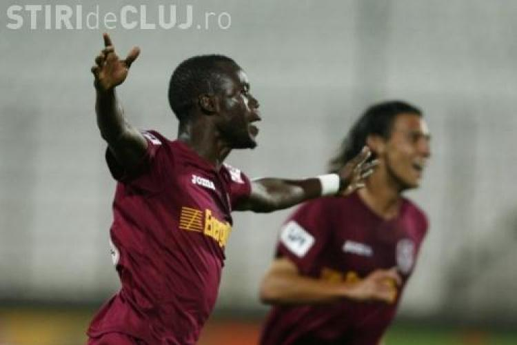 Chiajna - CFR Cluj 0-4! Sougou isi arata coltii si inscrie de doua ori