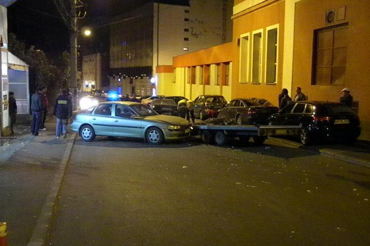 Accident langa fosta fabrica de bere Ursus, pe strada Berariei VIDEO si FOTO