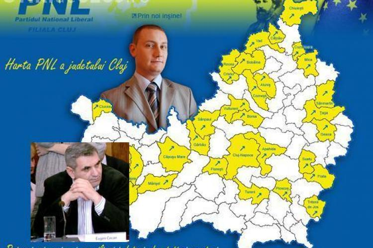 """Consilierii judeteni ai PNL Cluj """"mulg"""" de bani primariile conduse de liberali"""