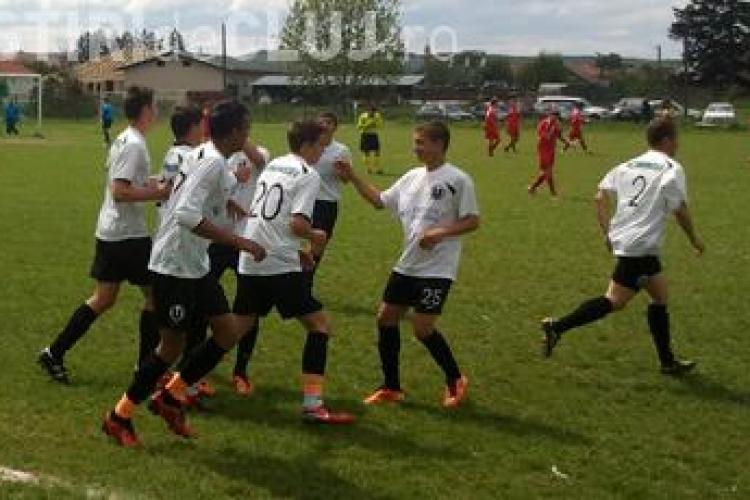 Ce au facut juniorii U Cluj in weekend -ul 15-16 octombrie