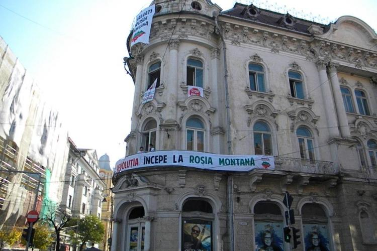 Protestatarii Rosia Montana pot sta in Conti o saptamana VIDEO si FOTO