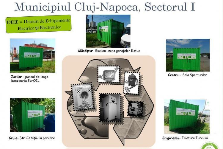 Deseurile electrice si electronice vor fi colectate sambata, 29 octombrie, la Cluj! Vezi unde sunt punctele depozitare ROSAL