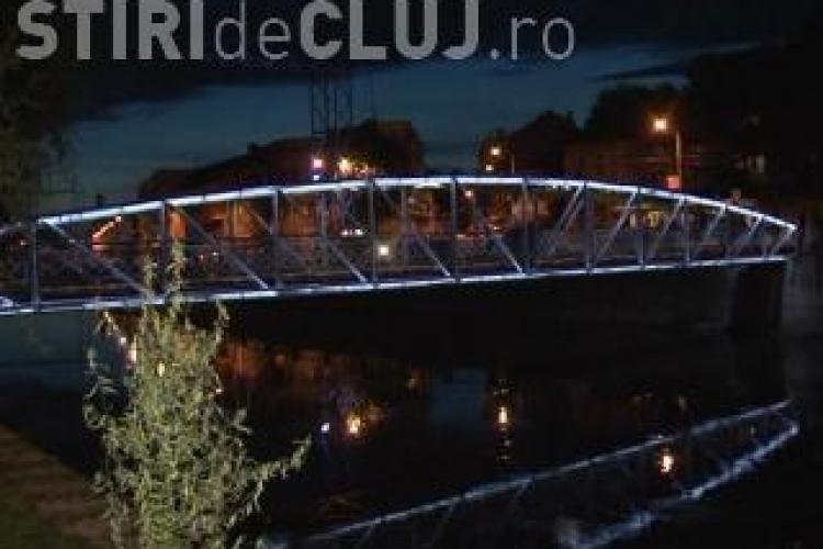 Doina si Ion Aldea-Teodorovici, comemorati la Cluj pe podul Elisabeta de studentii basarabeni VIDEO