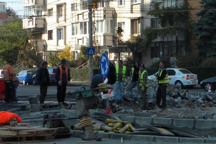 Incep lucrarile la intersectia de pe Nicolae Titulescu, zona Interservisan