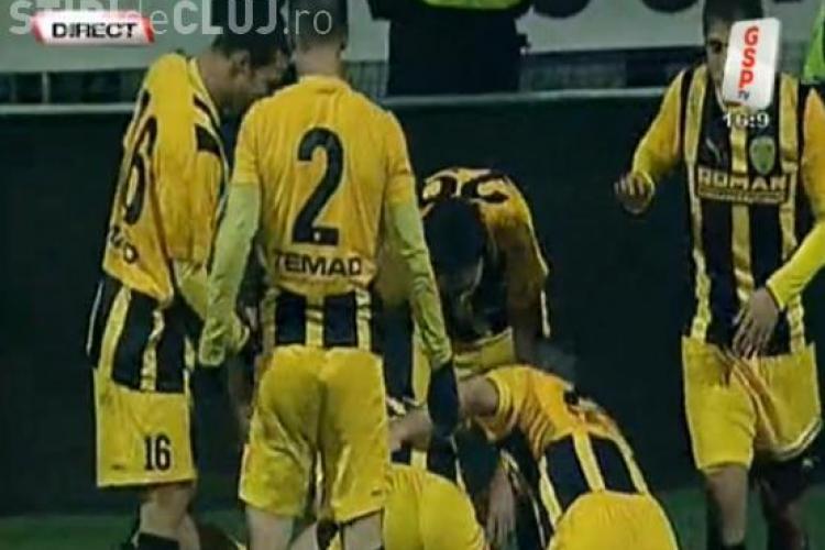 Gol Marian Cristescu! FC Brasov - CFR Cluj 1-0 VIDEO