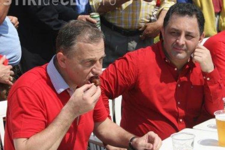 Geoana si Vanghelie vor sa rupa PSD-ul. Cei doi cauta un sef pentru filiala din Cluj