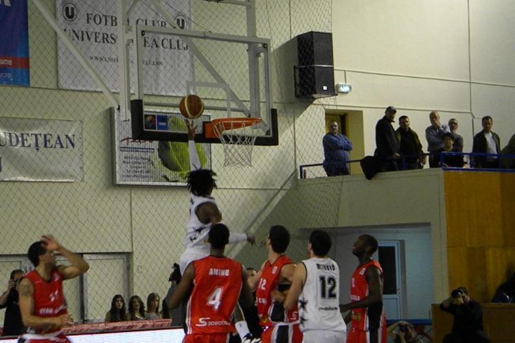 U Mobitelco - Elan Chalon 81 - 85! Galerie FOTO din timpul meciului