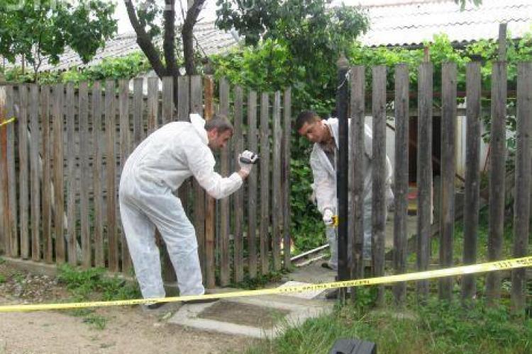Crima socanta in Calarasi, judetul Cluj! Si-a omorat iubita sub ochii fetitei de 2 ani