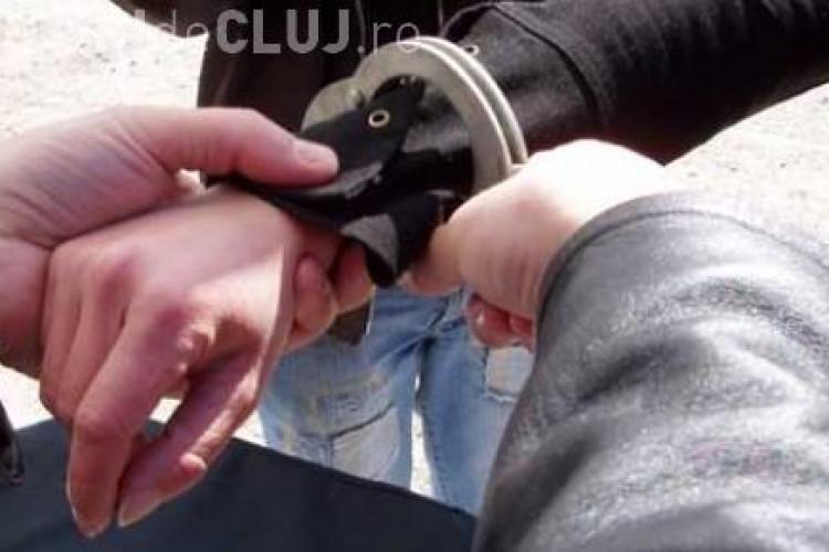 Suspect de talharie retinut de politistii clujeni