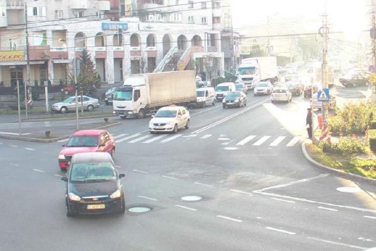Traficul in zona strazii Nicolae Titulescu va fi reorganizat. 90% dintre TIR -uri au disparut din oras  VIDEO