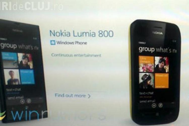 Primul Nokia cu sistem de operare Windows FOTO