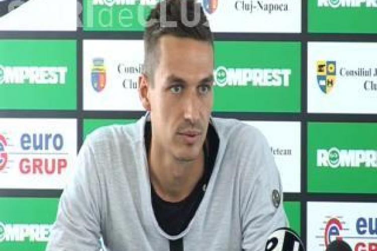 Lukasz Szukala, jucatorul U Cluj: Vrem victoria cu Sportul Studentesc si apoi ne gandim la CFR Cluj
