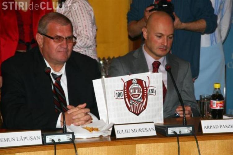 """CFR Cluj, acuzata de blaturi de baza unor stenograme """"subtiri""""! Citeste aici de vorbeau Vasile Avram si Porumboiu"""