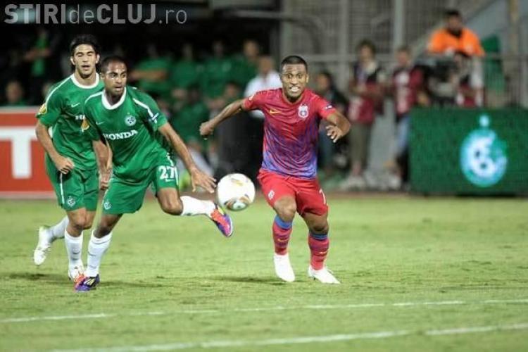 Steaua - Maccabi Haifa 4-2 REZUMAT VIDEO
