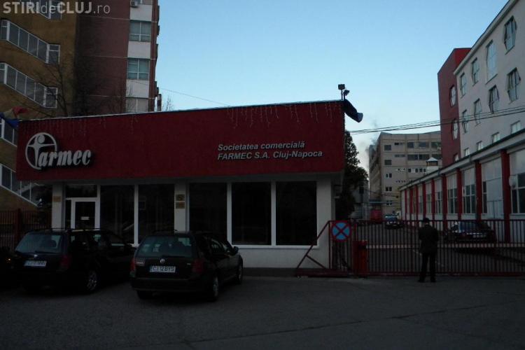 Accident de munca la fabrica Farmec! Un muncitor a fost ranit