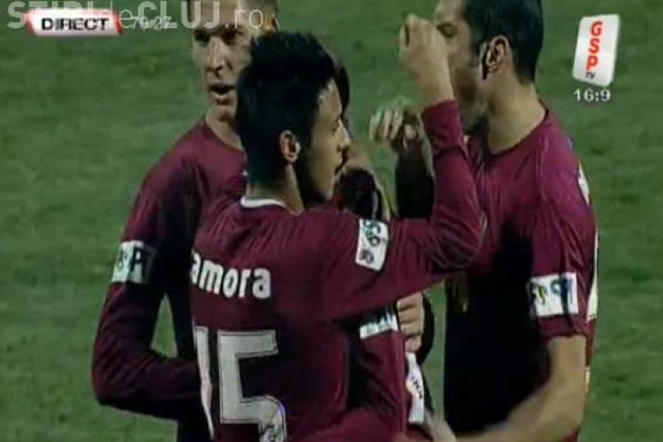 Gol Celestino! FC Brasov - CFR Cluj 1-1 VIDEO