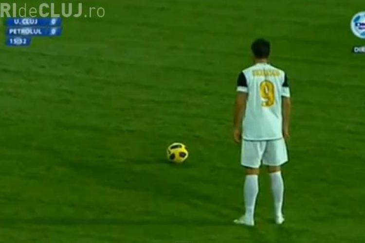 Vezi cele mai frumoase goluri inscrise de Claudiu Niculescu. Cap de lista e golul contra CFR Cluj VIDEO