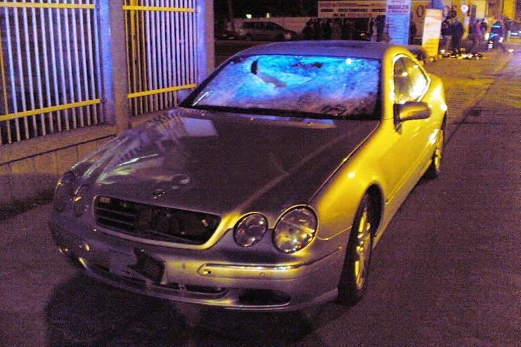Cum arata Mercedesul care i-a omorat pe Dumitru Toadere si sotia acestuia FOTO