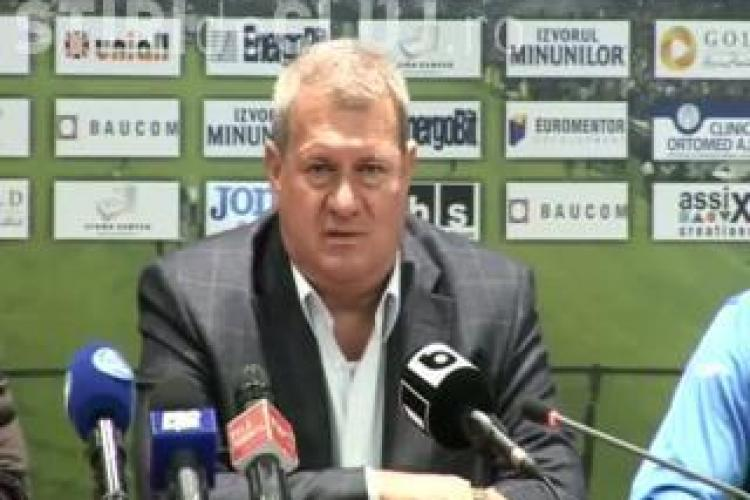 Iuliu Muresan: Costa nu pleaca. Acum isi rezolva unele probleme si revine la Cluj
