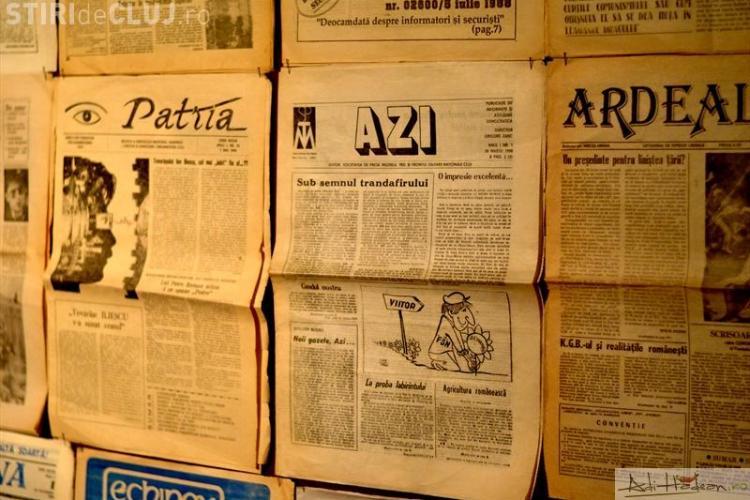 Expozitie cu ziare din ultimii 20 de ani la Bastionul Croitorilor FOTO