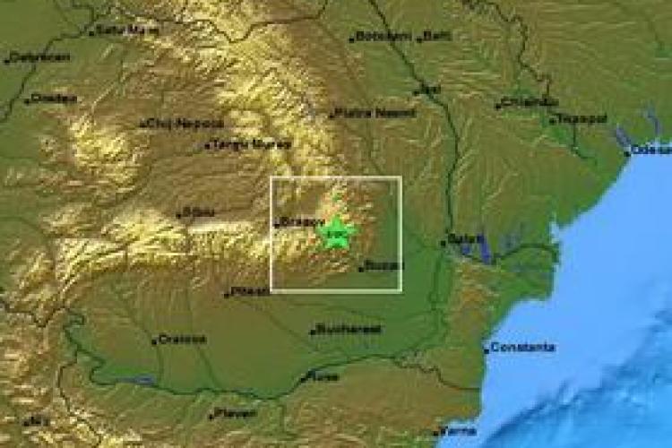 Cutremur azi- noapte in Transilvania