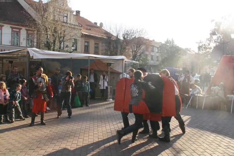 Clujul, reprezentat la Targul Turistic Medieval de la Bistrita